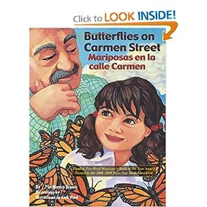 Butterflies on Carmen Street/ Mariposas en la calle Carmen
