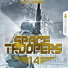Faktor X (Space Troopers 14) Hörbuch von P. E. Jones Gesprochen von: Uve Teschner
