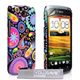 HTC One S Case Jellyfish Hard Case Cover With Screen Protector Film And Polishing Clothby Yousave Accessories