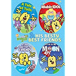 Wubbzy & His Besty Best Friends 4-Pack