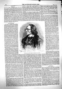 1860 PORTRAIT HENRI LITOLFF GERMAN COMPOSER PIANIST