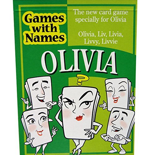 OLIVIA'S GAME: The stocking stuffer game especially for people called Olivia. Ideal as an amusing secret santa item, small xmas gift, gag or christmas game. - 1