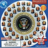 Presidents of the United States 101 piece Round Jigsaw Puzzle