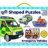Galt Toys Inc Shaped Emergency Vehicles Puzzle
