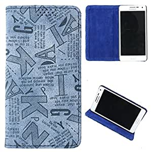 DooDa PU Leather Flip Case Cover For Karbonn A4+