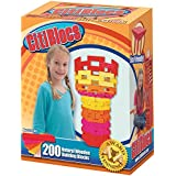 CitiBlocs 200-Piece Hot-Colored Building Blocks
