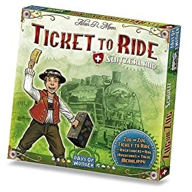 Ticket to Ride Switzerland!