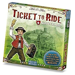 Ticket to Ride Switzerland (Swiss Map Expansion)