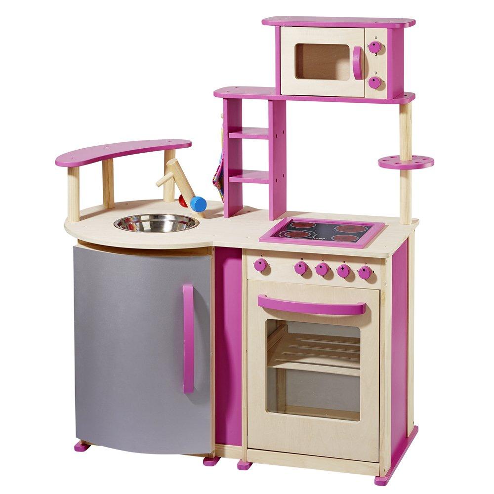 Howa Spielküche natur/pink