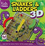 Snakes And Ladders 3D Board Game