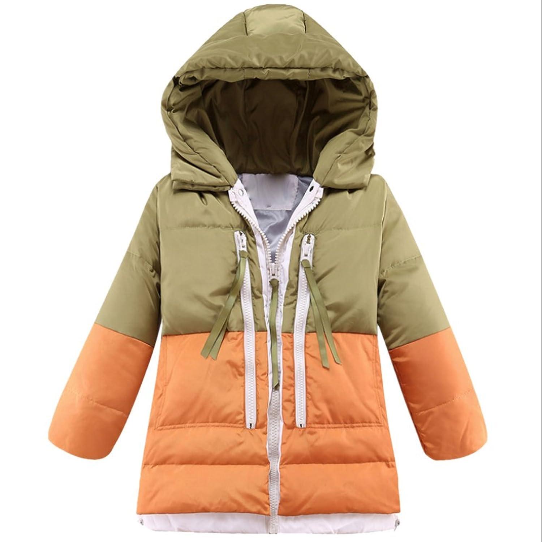 iikids Daunenjacke Kinder Jungen Mädchen Winterjacke mit Kapuze Verdickung Jacket Wintermantel Mantel Parka Outerwear Oberbekleidung Winter Kleidung jetzt kaufen