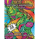 A Kaleidoscopia Coloring Book: Abstract Adventure The Original