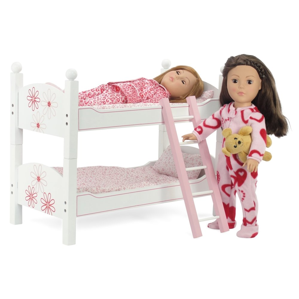 the seasoning products sale wooden doll bunk bed for 18 inch doll. Black Bedroom Furniture Sets. Home Design Ideas