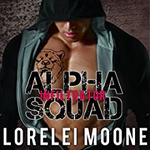 Alpha Squad: Infiltrator Audiobook by Lorelei Moone Narrated by Audrey Lusk