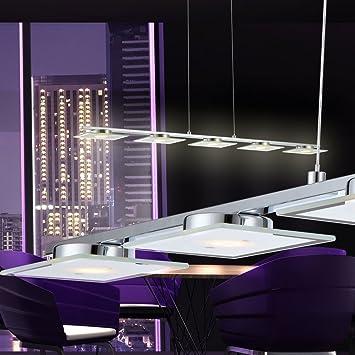 Luxus LED Wohn Zimmer Decken Pendel Leuchte Glas Kugel dimmbar RGB Big Light
