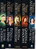 Virginia Andrews Virginia Andrews: Dollanganger 5 book set: Flowers in the Attic, Garden of Shadows, Seeds of Yesterday, Petals On the Wind and If There Be Thorns rrp £34.95