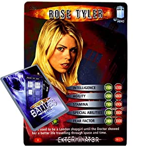 Doctor Who - Single Card : Exterminator 038 Rose Tyler Dr Who Battles in Time Rare Card