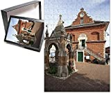 Photo Jigsaw Puzzle of Market Cross and Shire Hall on Market Hill, Woodbridge, Suffolk, England
