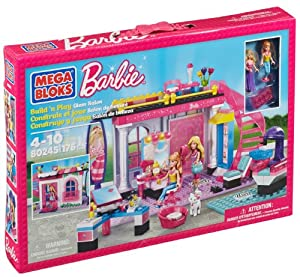 Mega Bloks Barbie Glam Salon