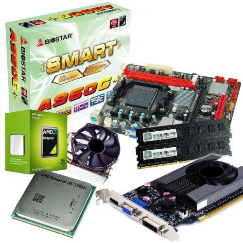 tronics24 PC Aufrüstkit   AMD Sempron 145 2.8GHz   Nvidia GeForce GT630 4GB