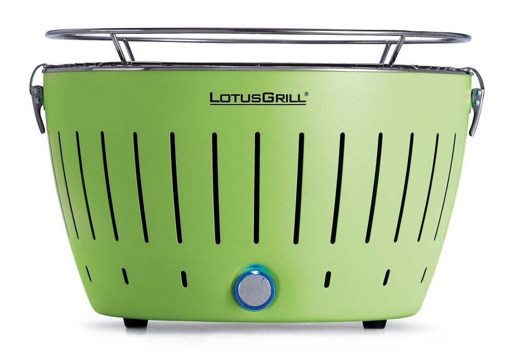 LotusGrill – Limettengrün – der RAUCHFREIE Holzkohlegrill günstig online kaufen