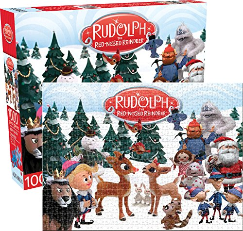 Aquarius Rudolph The Red-Nosed Reindeer Puzzle (1000 Pieces)