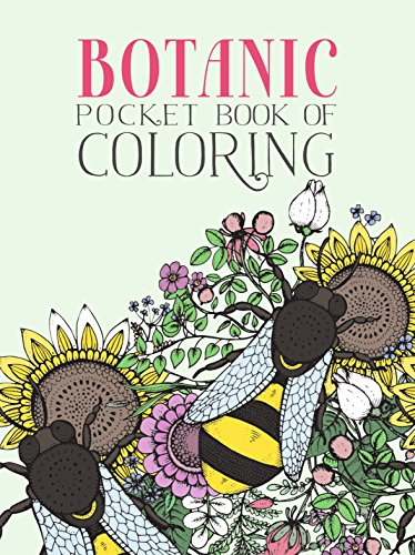 Botanic Pocket Book of Coloring (Botanic Drawing compare prices)
