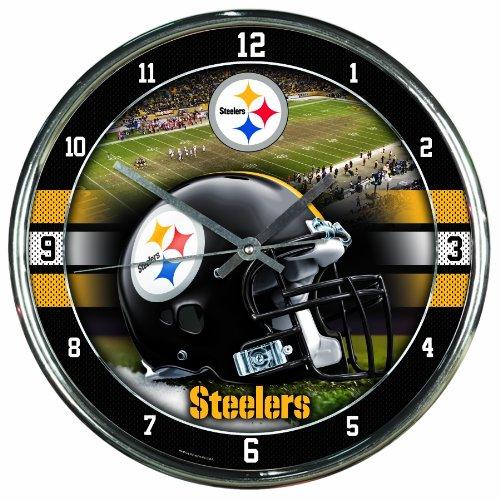 "NFL """" Chrome Clock at Steeler Mania"