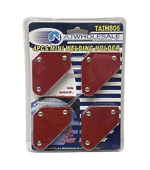 Pit Bull TAIM806 New Set Magnets Welder Arc Tig Mig Welding, 4 Piece