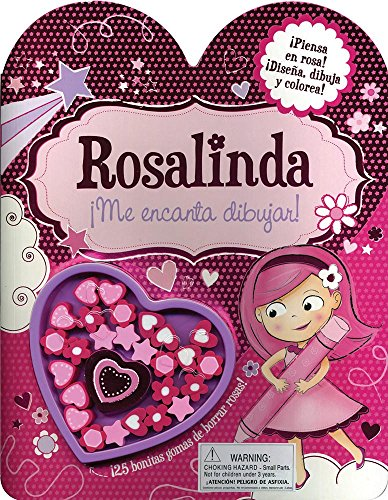 Rosalinda. ¡Me Encanta Dibujar! (+ 25 Gomas De Borrar)