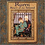 Rumi, Heart of the Beloved 2009 Wall Calendar (160237094X) by Jelaluddin Rumi