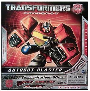 Hasbro Transformers 2010 SDCC San Diego ComicCon Exclusive Figure Autobot Blaster