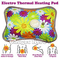 Gadget Hero'sTM Rechargeable Electrothermal Heating Pad Electric Gel Thermal Pain Relief Bag. Large Size 1 Litre Bag.