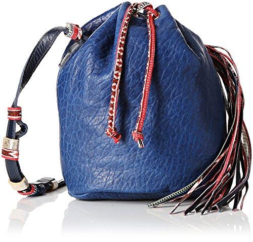 Aridza Bross Tali, Borsa a tracolla donna Blu Bleu (Electrique) Taille Unique