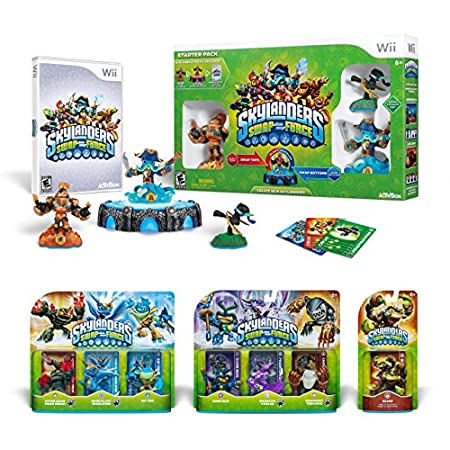 Skylanders SWAP Force Ultimate Bundle Starter Pack - Wii