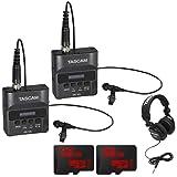 Tascam DR-10L Portable Digital Studio Recorder w/Lavaliere Microphone + 32GB Audio Bundle (2 Pack)