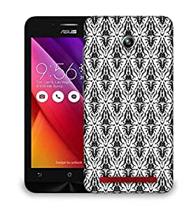Snoogg Dark Mixed Pattern Designer Protective Phone Back Case Cover For Asus Zenfone GO