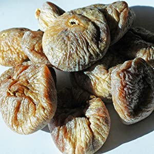 Indus Organic Turkish Jumbo Dried Figs, 1 Lb, Sulfite Free, No Added Sugar, Freshly Packed, Premium Grade