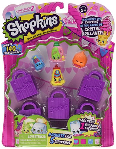 Shopkins Season 2 (5-Pack) (Styles Will Vary) (Discontinued by manufacturer)