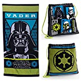 Disney Star Wars Darth Vader Beach Towel and Tote Bag 2 Piece Set