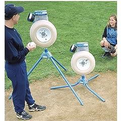 Jugs Junior Baseball and Softball Pitching Machine by Jugs