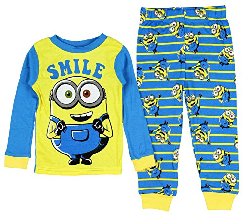Despicable-Me-Minion-Long-Sleeve-Pajama-Sleepwear-Little-Boys
