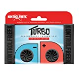 KontrolFreek Turbo Thumb Grips for Nintendo Switch Joy-Con (Black)