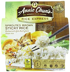 Amazon.com : Annie Chun's Rice Express Sprouted Brown Rice