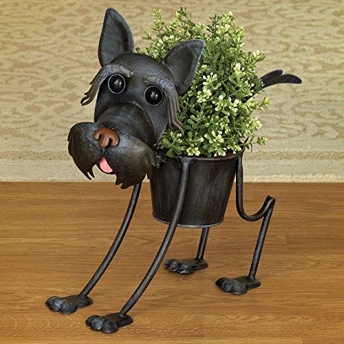 scottie planteroutdoor dog urn planter � cute garden