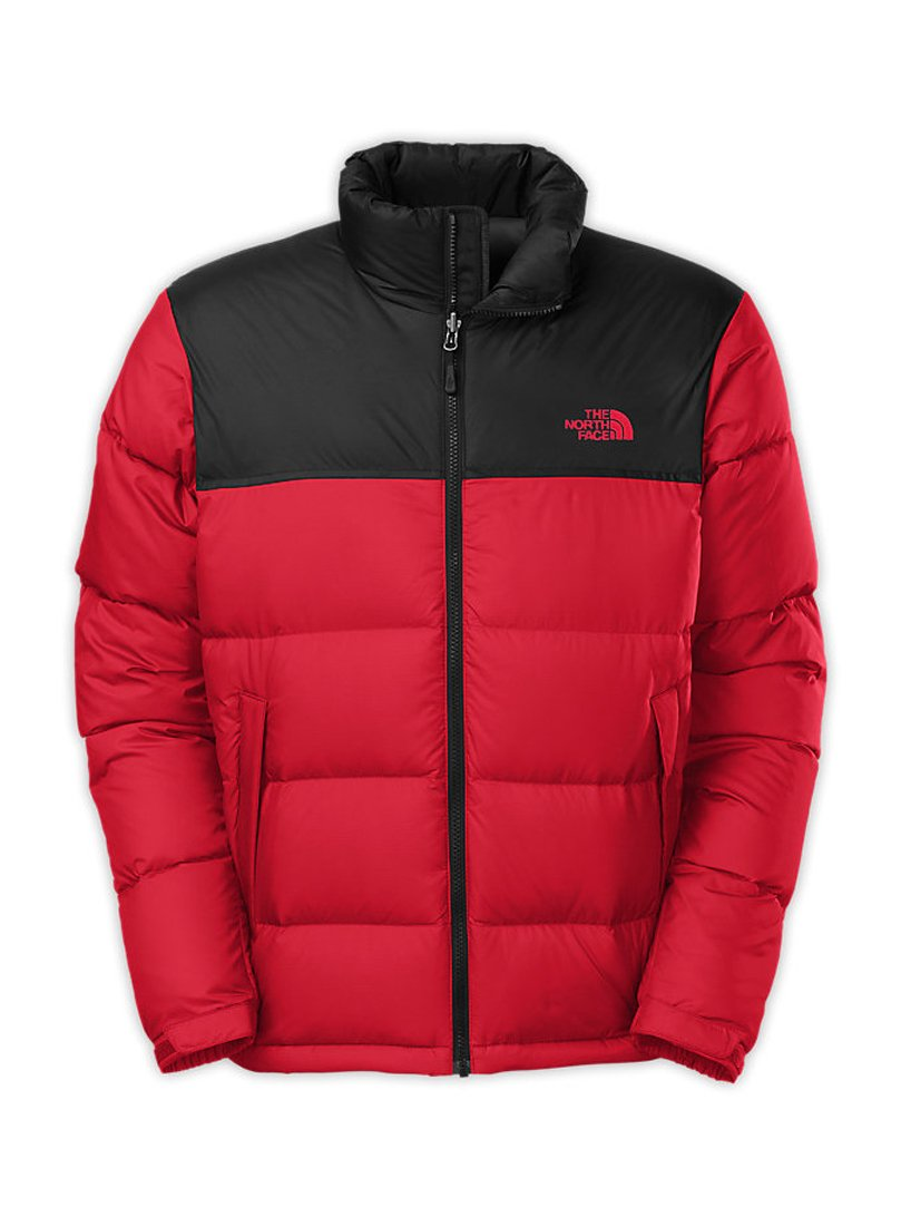The hood of the North Face Nuptse down jacket