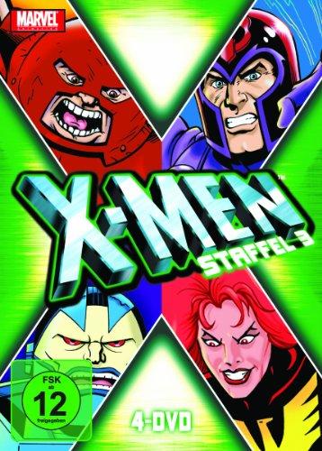 X men Season 3 IMPORT Allemand IMPORT Coffret De 4 Dvd Edition simple