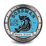 Bossman Relaxing Beard Balm - Nourish, Thicken and Strengthen Your Beard (Magic) (Color: Magic)