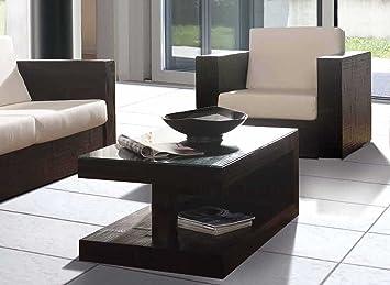 Mesas de Centro en Bambu : Modelo RUBIK