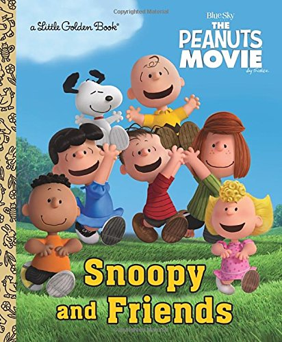 Snoopy and Friends (Little Golden Books)